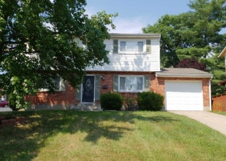 Pre Foreclosure in Cincinnati 45239 PAMELEEN CT - Property ID: 1314483644