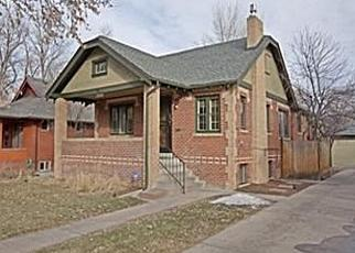 Pre Foreclosure in Denver 80220 CLERMONT ST - Property ID: 1316338905