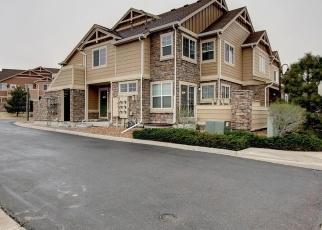 Pre Foreclosure in Aurora 80016 E PLATTE DR - Property ID: 1316375239