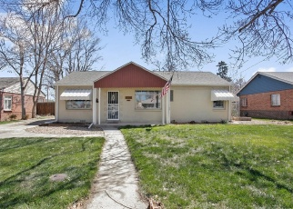 Pre Foreclosure in Aurora 80010 NOME ST - Property ID: 1316388378