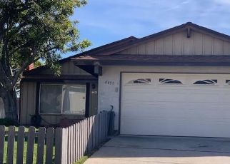 Pre Foreclosure in Lemon Grove 91945 BLOSSOM HILL DR - Property ID: 1316485170