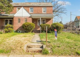 Pre Foreclosure in Baltimore 21212 BENNINGHAUS RD - Property ID: 1317850338