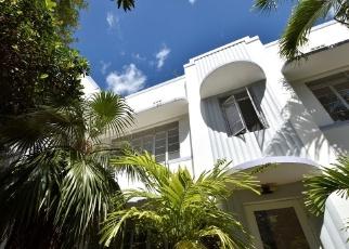 Pre Foreclosure in Miami Beach 33139 LENOX AVE - Property ID: 1318995199