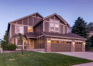 Pre Foreclosure in Castle Rock 80109 THATCH CIR - Property ID: 1319852318