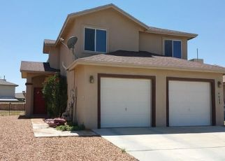Pre Foreclosure in El Paso 79938 TIERRA PATINO LN - Property ID: 1320689732