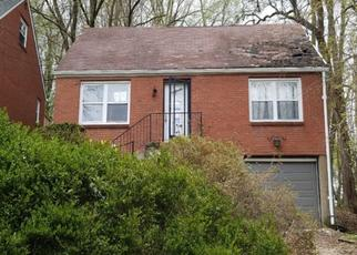 Pre Foreclosure in Pittsburgh 15221 PADEN ST - Property ID: 1322101315
