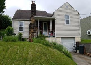 Pre Foreclosure in North Versailles 15137 THOMAS AVE - Property ID: 1322103958