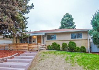 Pre Foreclosure in Denver 80236 S MABRY CT - Property ID: 1323535686