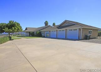 Pre Foreclosure in Ramona 92065 TRAYLOR RD - Property ID: 1323713502