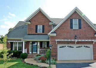 Pre Foreclosure in Glen Allen 23059 SUTTON PARK CT - Property ID: 1324537774
