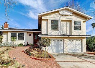Pre Foreclosure in Newbury Park 91320 LA GRANGE AVE - Property ID: 1324647254