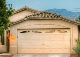 Pre Foreclosure in Tucson 85742 N MEXICAN SAGE PL - Property ID: 1325254734