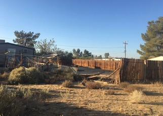 Pre Foreclosure in Ridgecrest 93555 W WARD AVE - Property ID: 1327147205