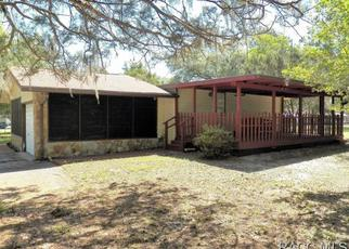 Pre Foreclosure in Dunnellon 34431 SECOND AVE - Property ID: 1327944773