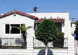Pre Foreclosure in Los Angeles 90016 HOMESIDE AVE - Property ID: 1328493548