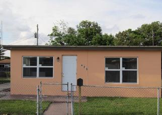 Pre Foreclosure in Boynton Beach 33435 NW 12TH AVE - Property ID: 1328675751