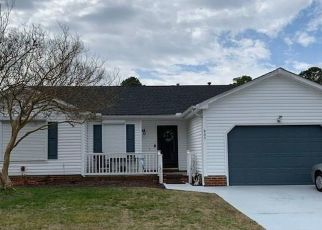 Pre Foreclosure in Virginia Beach 23454 AVANT CT - Property ID: 1329192557