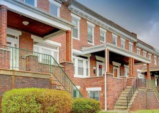 Pre Foreclosure in Baltimore 21206 SHAMROCK AVE - Property ID: 1332664816
