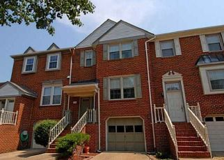 Pre Foreclosure in Virginia Beach 23464 CANTERFORD LN - Property ID: 1333023515