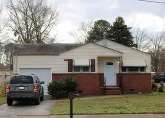 Pre Foreclosure in Chesapeake 23324 HALSEY ST - Property ID: 1333068629