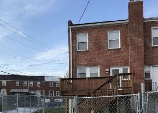 Pre Foreclosure in Baltimore 21206 GREENCREST RD - Property ID: 1334396562