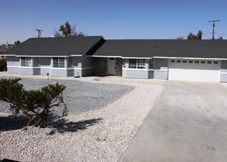 Pre Foreclosure in Apple Valley 92307 SAHALE RD - Property ID: 1335241857