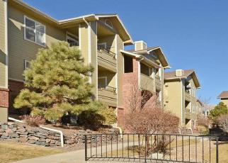 Pre Foreclosure in Littleton 80128 S UPHAM WAY - Property ID: 1336206266