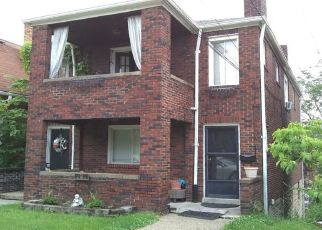 Pre Foreclosure in Pittsburgh 15229 ANN ARBOR AVE - Property ID: 1339846263