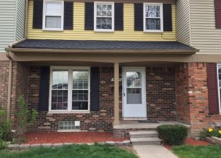 Pre Foreclosure in Sterling Heights 48310 PARK PLACE DR - Property ID: 1341001647