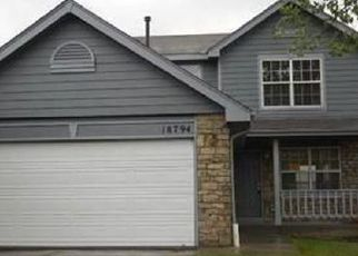 Pre Foreclosure in Aurora 80013 E LINVALE PL - Property ID: 1343074579