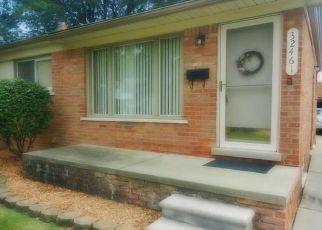 Pre Foreclosure in Westland 48186 GRANDVIEW AVE - Property ID: 1344293457