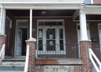Pre Foreclosure in Baltimore 21229 S CULVER ST - Property ID: 1348549697