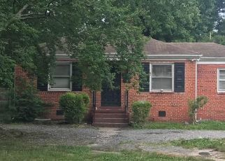 Pre Foreclosure in Richmond 23222 PILOTS LN - Property ID: 1351203371