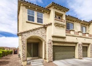Pre Foreclosure in Henderson 89052 VIA PIAZZA - Property ID: 1353591202