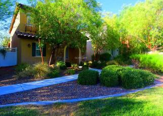Pre Foreclosure in Henderson 89044 ROMANESQUE ART AVE - Property ID: 1353688887