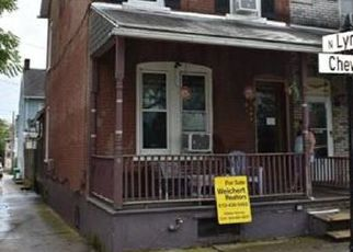 Pre Foreclosure in Allentown 18102 CHEW ST - Property ID: 1354544231