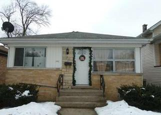 Pre Foreclosure in Bellwood 60104 BELLWOOD AVE - Property ID: 1355099141