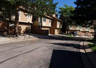 Pre Foreclosure in Colorado Springs 80906 AUTUMN RIDGE CIR - Property ID: 1355337408