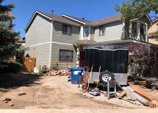Pre Foreclosure in Aurora 80017 S RIFLE CIR - Property ID: 1355427640