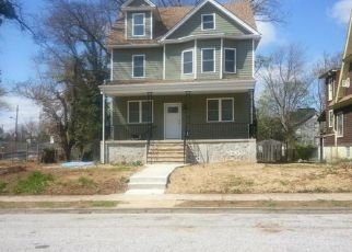 Pre Foreclosure in Baltimore 21215 PENHURST AVE - Property ID: 1355763562