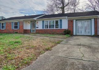 Pre Foreclosure in Virginia Beach 23452 OLD FORGE RD - Property ID: 1356256726
