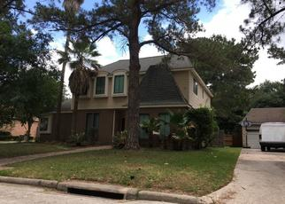 Pre Foreclosure in Houston 77090 SANDY CLIFFS DR - Property ID: 1356619357