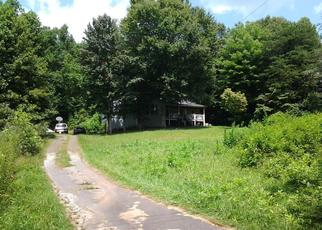 Pre Foreclosure in Young Harris 30582 CLARENCE NICHOLS RD - Property ID: 1357361286