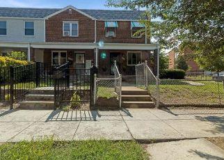 Pre Foreclosure in Washington 20002 19TH ST NE - Property ID: 1359078588