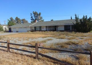 Pre Foreclosure in Apple Valley 92307 SENECA RD - Property ID: 1359219616