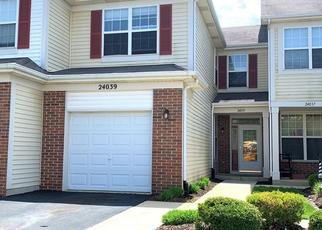 Pre Foreclosure in Plainfield 60585 PEAR TREE CIR - Property ID: 1360520844