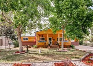 Pre Foreclosure in Castle Rock 80104 ASH AVE - Property ID: 1361064806