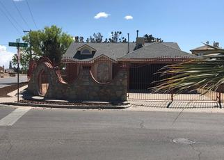 Pre Foreclosure in El Paso 79936 OXCART RUN ST - Property ID: 1361065677