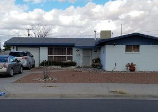 Pre Foreclosure in El Paso 79925 SUMATRA ST - Property ID: 1361077497