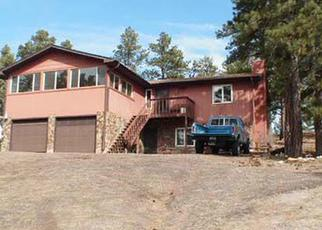 Pre Foreclosure in Kiowa 80117 PONDEROSA LN - Property ID: 1361146256